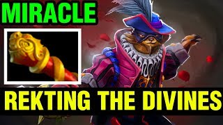 REKTING THE DIVINES - Miracle- Pangolier - Dota 2