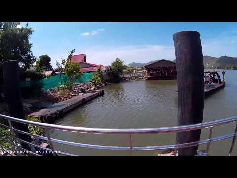 sunitjo travel พาชม ท่าเทียบเรือชุกโดน เกาะเกษม กาญจนบุรี ChukDon Pier Kanchanaburi