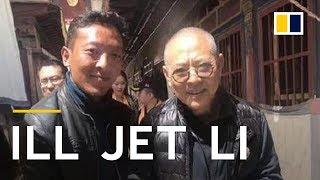 Fans shocked over Jet Li's frail appearance