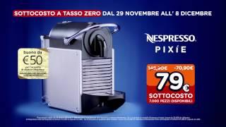 Spot Unieuro - Sottocosto - Krups Nespresso Pixie XN3006