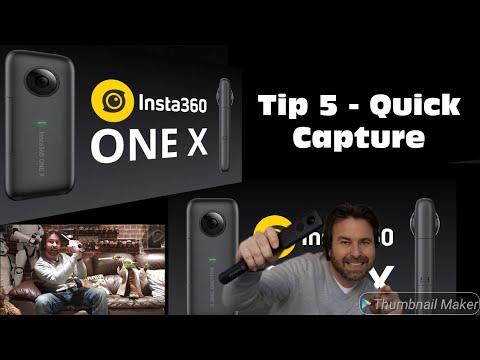 Insta360 One X - Tip 5 Easy Capture
