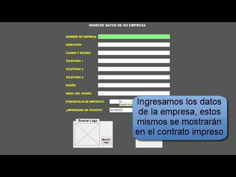Software Renta de Autos, Motos y Maquinaria, Contratos.