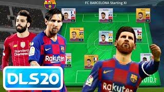 Fc barcelona vs. liverpool dream league soccer 2020 gameplay | dls