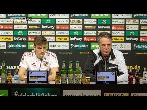 27. Spieltag | SGD - FCI | Pressekonferenz vor dem Spiel