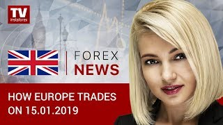InstaForex tv news: 15.01.2019: Traders braced for Brexit vote