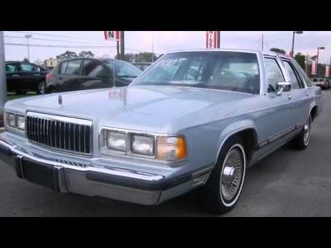 1991 Mercury Grand Marquis Sedan LS  YouTube