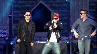 [직캠] Simon D & Zion.T - Stay Cool (2012 시월에 콘서트)