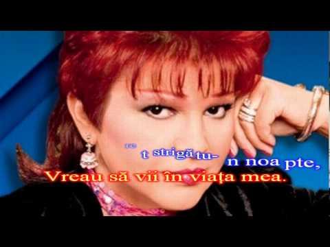 Aura Urziceanu  - As vrea sa vii in viata mea - Karaoke romanesti
