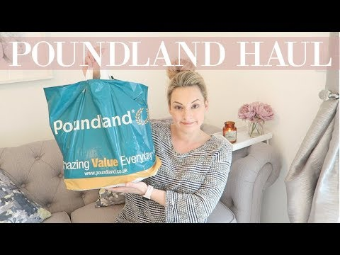 POUNDLAND HAUL 2018 | MARCH 2018 | CLEANING, BABY, DECOR & MORE | MRS SMITH & CO.