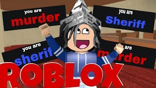 ROBLOX-I needed a lot of luck: 3 (Murder mystery 2)