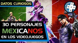 30 Mexicanos en los videojuegos