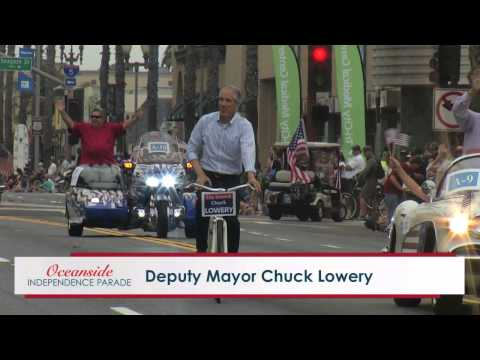 Oceanside Independence Day Parade 2015 Part 1