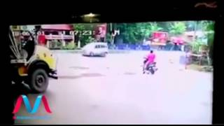 Shocking Accidents happened in Kerala, India - CCTV footage