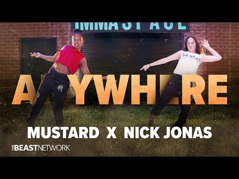 MUSTARD X NICK JONAS - ANYWHERE | @willdabeast__ Choreography | @immaspace