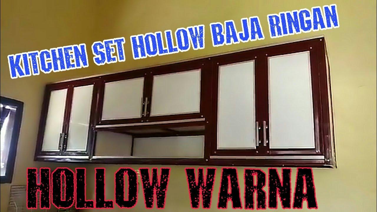 Kitchen Set Hollow Baja Ringan Hollow Warna