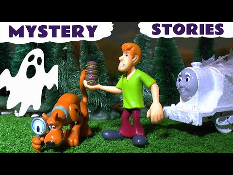 Scooby Doo Spooky Stories with Thomas & Friends Toy Trains Play Doh Toys & Halloween Hot Wheels TT4U
