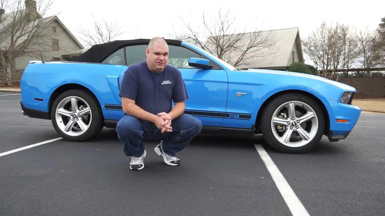 2010 Ford Mustang Premium Gt V 8 Convertible Grabber Blue