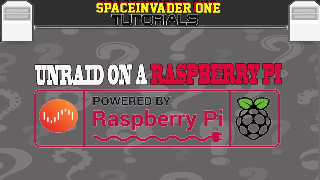 Running Unraid on an Raspberry Pi 4 using qemu - YouTube