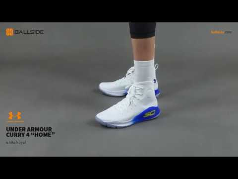 san francisco a480d 77cd2 Under Armour Curry 4 HOME on feet