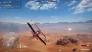 Battlefield 1 - 53-0 Fighter plane (Trench fighter)  - Sinai Desert conquest