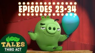 Angry Birds   Piggy Tales   Third Act Compilation Ep23 34 Mashup