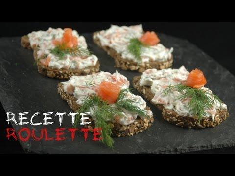 Recette : tartines saumon ricotta