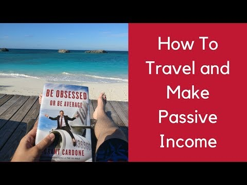 How To Travel The World And Make Money While Having Fun (Passive Income) - 동영상