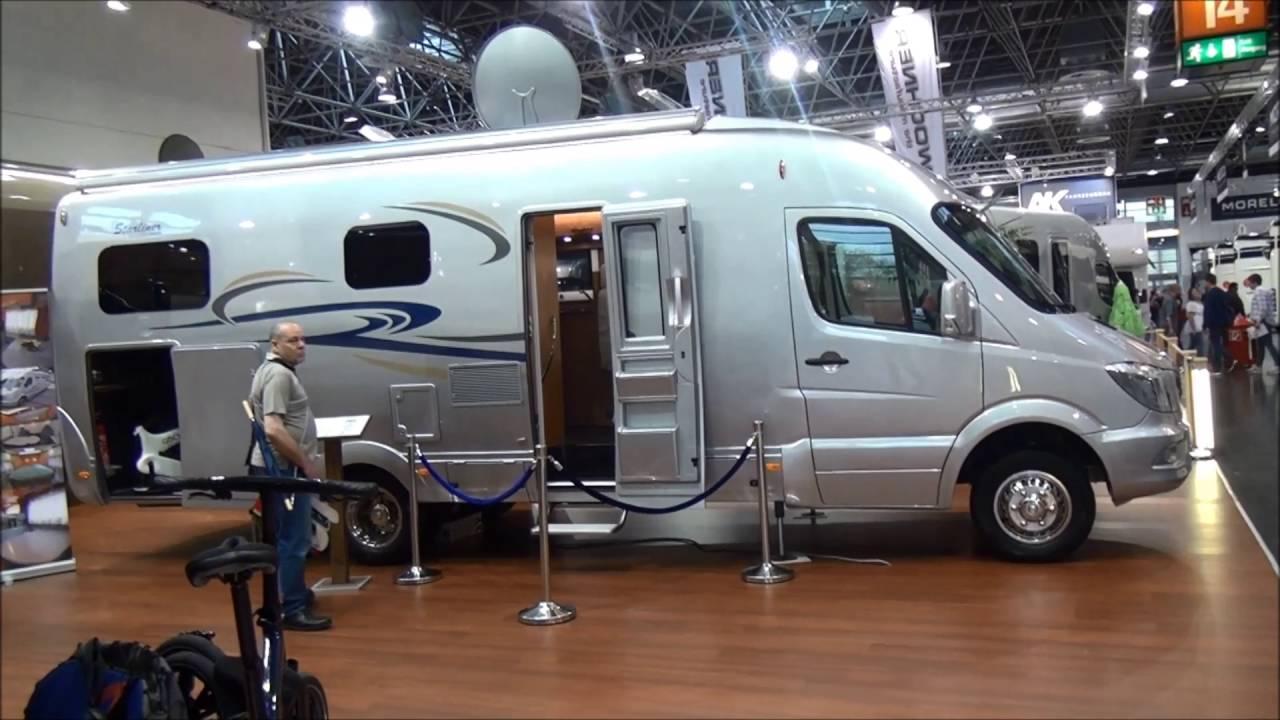 Mercedes Sprinter Rv >> Starliner by Maurer on Mercedes Sprinter custom built motorhome - YouTube