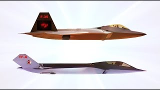 TAI - Turkey TF-X 5th Generation Stealth Fighter Combat Simulation [720p]