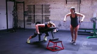 The Bigness Project Demo: Dumbbell Chest-Supported Row (Wide Grip)