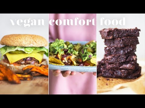 VEGAN COMFORT FOOD   4 Easy and Delicious Recipes