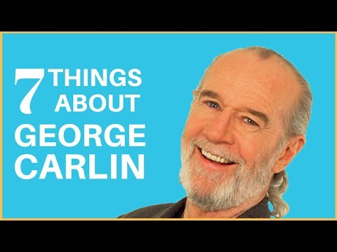 7 SURPRISING FACTS ABOUT GEORGE CARLIN