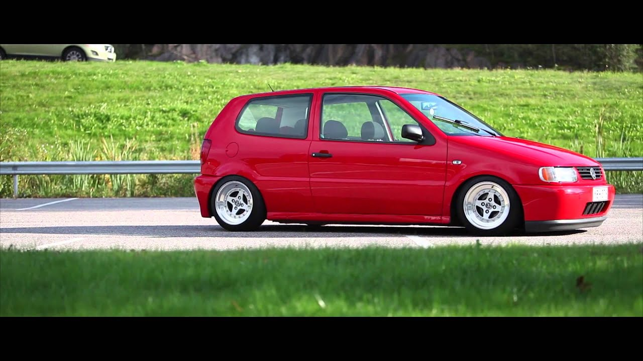 stanced vw polo 6n rolling low static nopokemonshit youtube. Black Bedroom Furniture Sets. Home Design Ideas