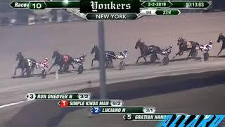 Simple Kinda Man 2/2/19 #TeamAllard #horseracing