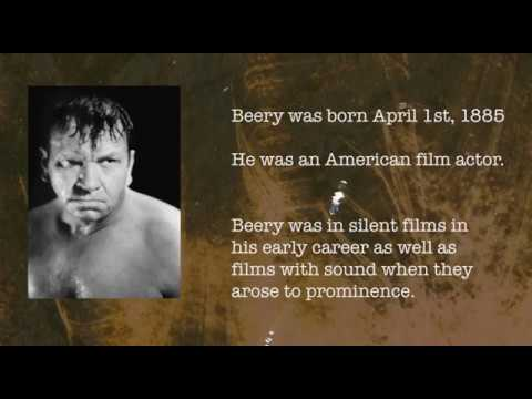 Wallace Beery Biography