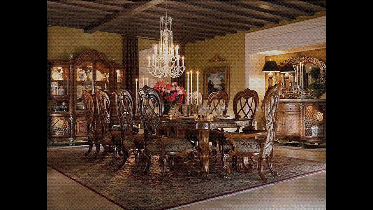 Galer a de muebles de comedor elegante youtube for Muebles de comedor elegantes