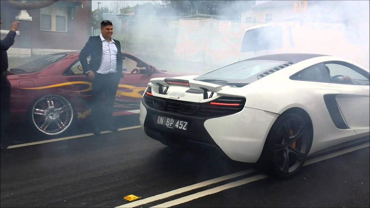 mclaren backfire in sydney australia - youtube