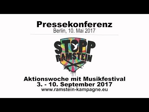 Pressekonferenz  Stopp Air Base Ramstein: Mit Protest und Kultur zum Frieden