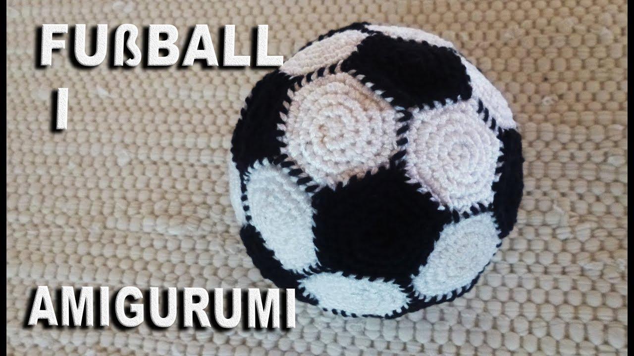 Kostenlose Häkelanleitung ! Fußball Amigurumi als Geschenk für ...