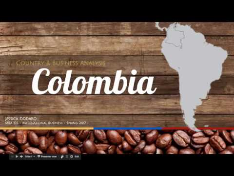 MBA 516- Country Analysis: Colombia