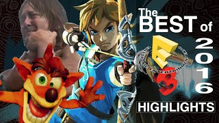 The Best of E3 2016 Highlights
