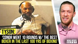 Conor McGregor reacts to Mike Tyson praising his boxing ability, Jones v Ngannou update,Gaethje,Tony