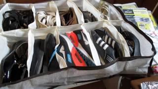 як зробити органайзер для взуття