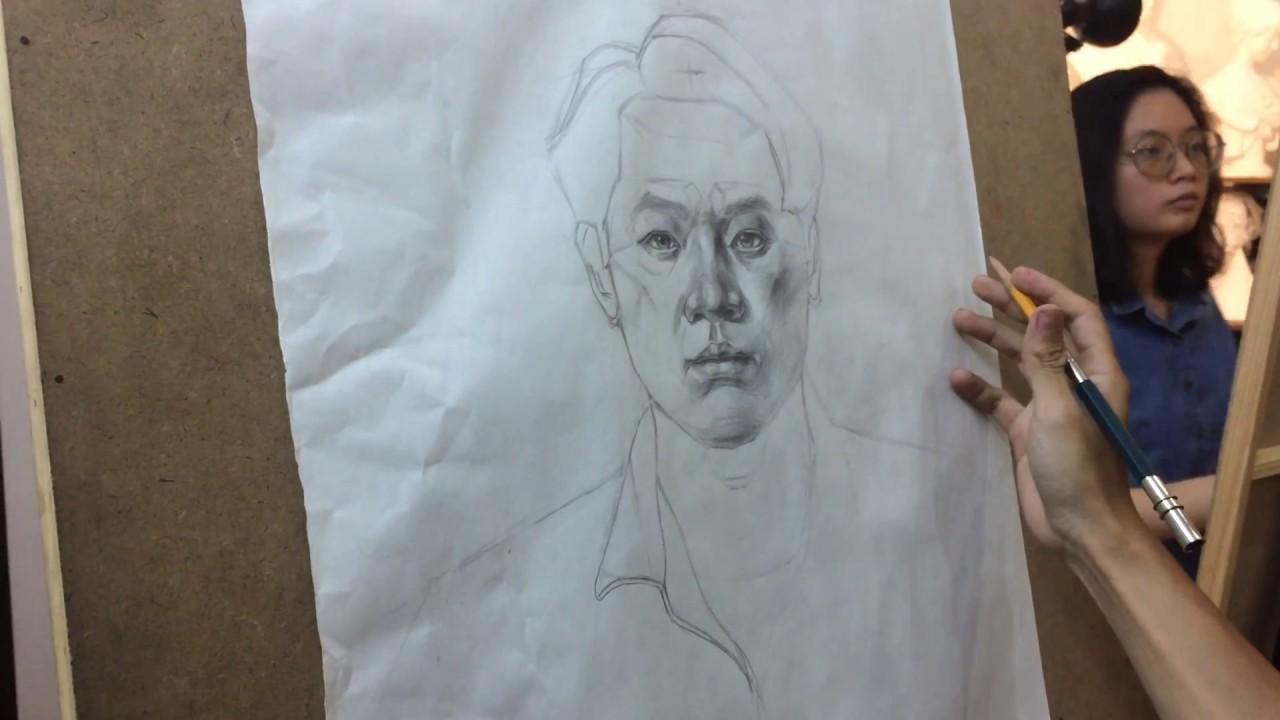 Lớp học vẽ Hình họa Chân dung [DO ART]