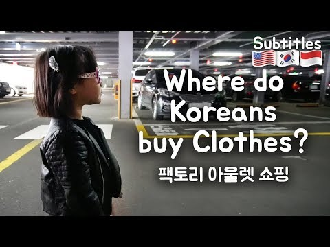 Korea + Indonesia Family | Pergi Ke Factory Outlet Di Korea!
