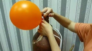 видео Блог Лещанова Сергея: Шар в шаре с обработкой Hi-Float