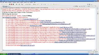 Spring AOP tutorial   Part 2   Aspect Oriented Programming Tutorial   Part 2