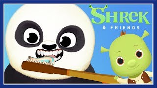 Fun Animal Care - Kids Play & Learn Brush Teeth Care - Shrek Fox & Sheep Kids Games