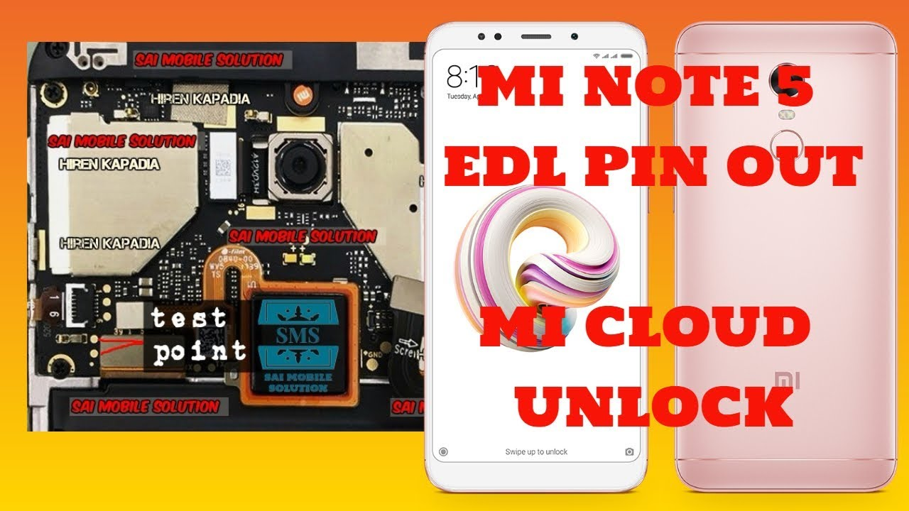 REDMI NOTE 5 EDL FLASHING|REDMI NOTE 5 EDL PINOUT|REDMI NOTE 5 MI ACCOUNT  UNLOCK | MI NOTE 5 FRP