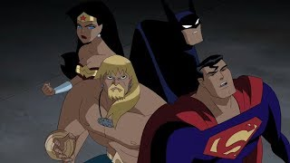 Justice League meets Ultimen!